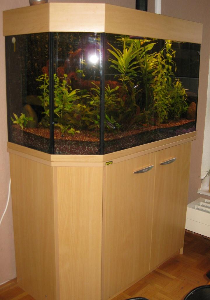200l Aquarium mit Unterschrank - Aquarien